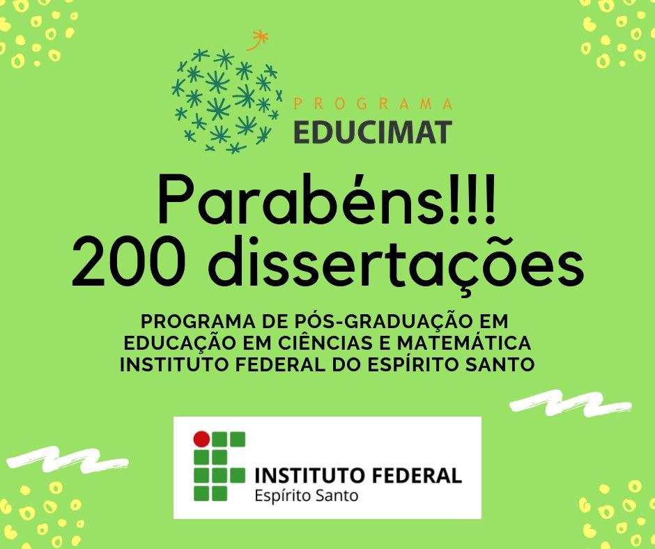 200 Dissertações Educimat