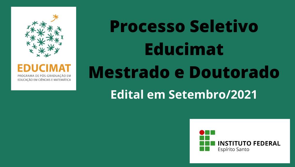 Processo Seletivo 2022: Mestrado e Doutorado